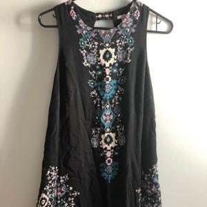 Black Mosaic Ecoté dress
